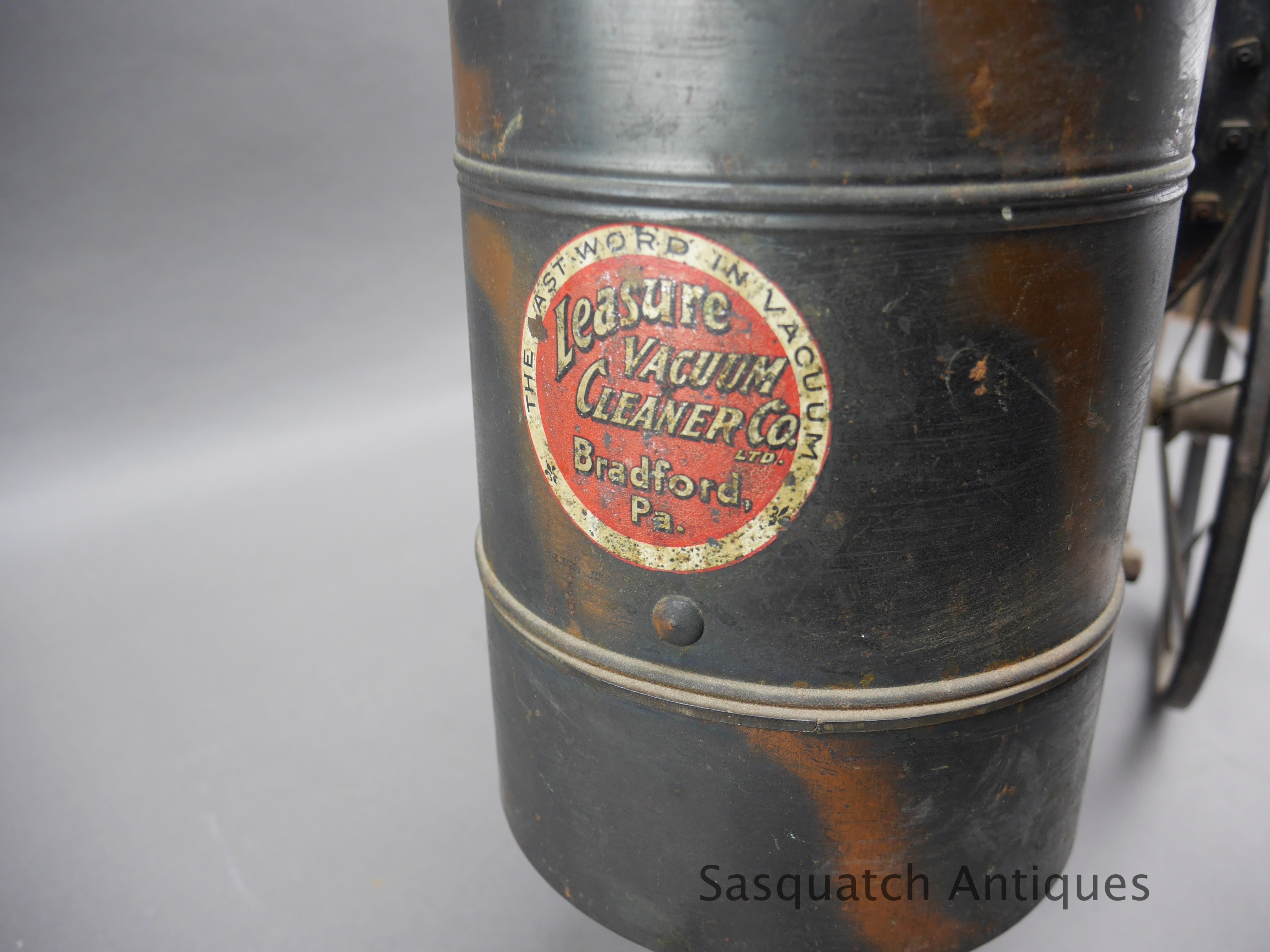 Antique Leasure time mechanical vacuum cleaner Bradford Pa ...