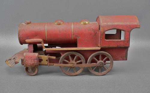 train toy Vintage large-scale