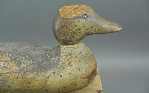 Mason standard grade glass eyed wood duck mallard hen vintage decoy for repair sale