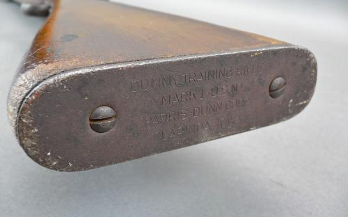 WWII USN / USMC Paris Dunn Mark 1 dummy training rifle Clarinda Iowa for sale