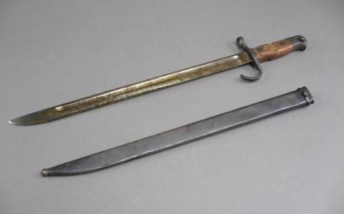 WWII Japanese Ariska type 30 Nagoya arsenal marked bayonet