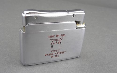 1st Marine aircraft wing enlisted club Iwakuni Japan Vietnam era lighter
