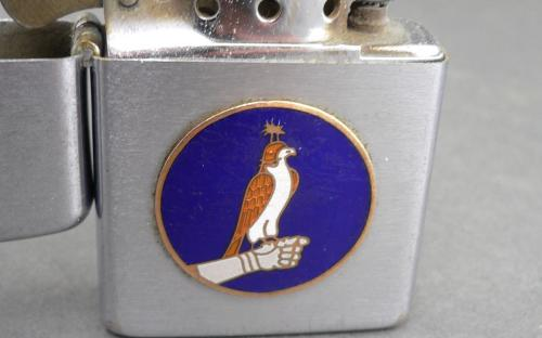Vintage Vietnam era VF-96 fighting falcons F4 phantom squadron lighter for sale