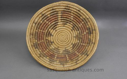Vintage traditional Navajo wedding basket