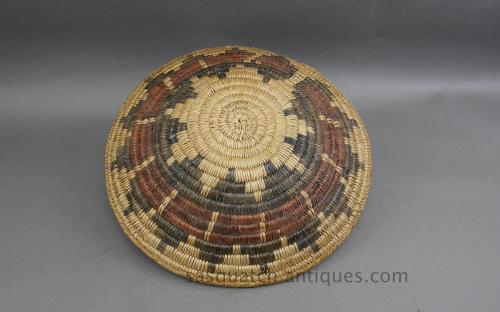 Vintage traditional Navajo wedding basket for sale