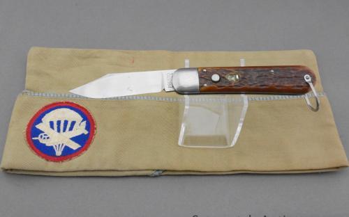WWII paratrooper Schrade presto M2 pocket knife | Sasquatch Antiques