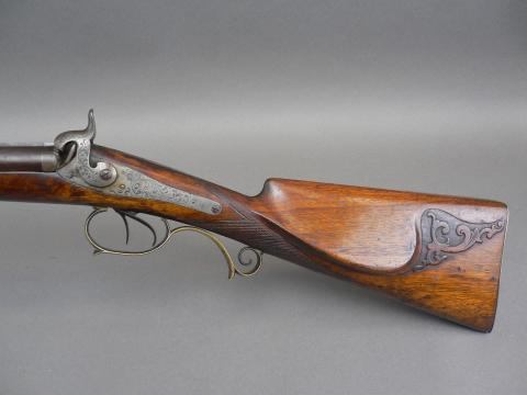 FIne 19th century engraved Klett & Sohne side by side shotgun