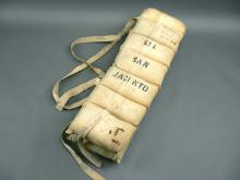 Antique life preserver from named steam shipped SS San Jacinto